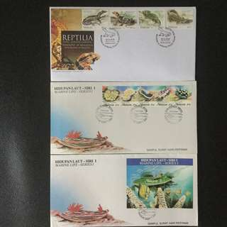 First Day Cover 3Set