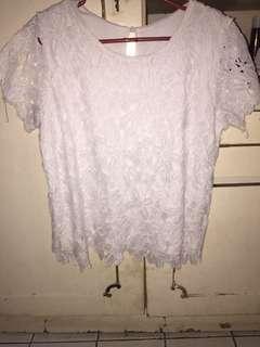 Renda white blouse