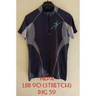 baju atasan olahraga sport import merk NEPA