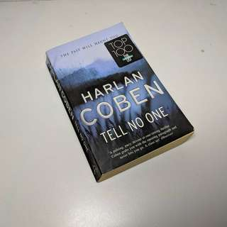 Novel english. Tell No One by Harlan Coben