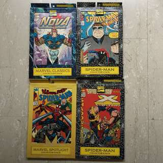 4 Collector's Pack of 15 Comics