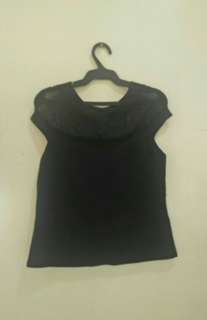 Black Formal Top