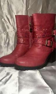 Barbie Pink High Heels Boots