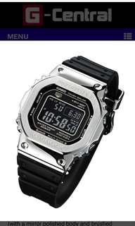 🚚 G-Shock Limited GMW-B5000-1 Stainless Steel with Resin Band