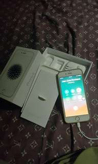 Iphone 6 Rose Gold 32GB FU 3months old - Official Receipt and then 3 Cases, Box Charger , Earphone . Original Price P20,990