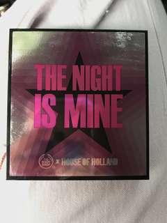(MASIH SEGEL) The night is mine palette by The Body Shop lips eye shadow highlighter