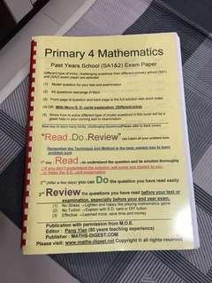 P4 Mathematics Past year school exam paper