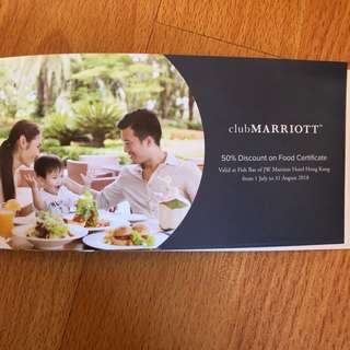 JWMarriott 50% discount