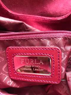 Furla Big Clutch in Suede Leather (Great Deal)