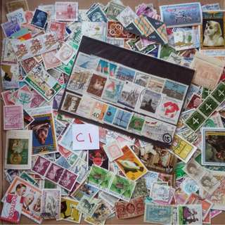 World Mix Stamps 500 pcs lot C1 BL650