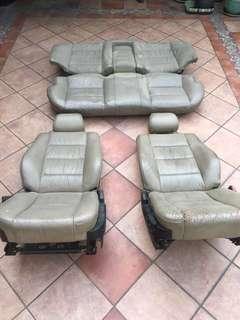 E34 Seats Full Set Leather