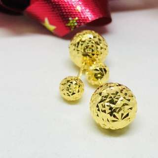 Dior Earring Gold 916*Ampang