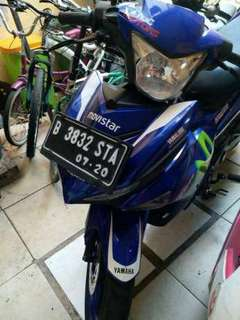 Motor yamaha MX King 150cc movistar th 2015