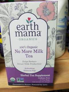 🚚 Earth Mama Angel Baby, Organic No More Milk Tea, Refreshing Hibiscus Sage