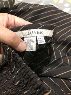 Zara Basic brown dress size Large