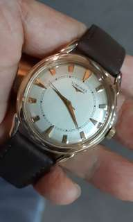 Longines 14k Solid Gold.