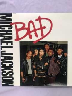"Vinyl Record by Michael Jackson - Bad 12"" Single Jap"