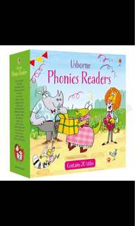 Usborne phonics readers (20)