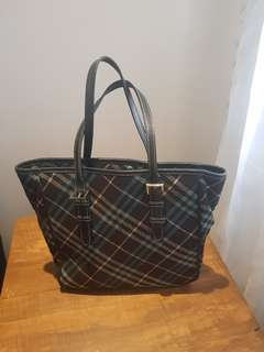 Burberry London Blue Label Bag
