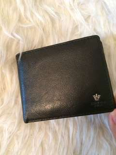 Crown Polo Leather Wallet