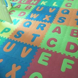 Puzzle Foam Mat Pure Color