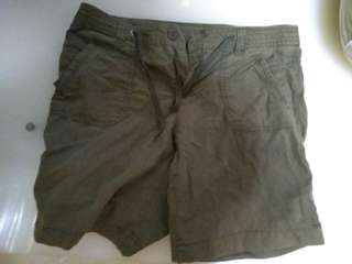 *BLESS* Both Gender Pant ( army green )