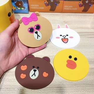 Instocks Line Friends Cup Coasters