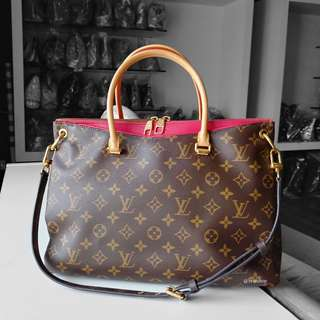 Authentic Louis Vuitton Monogram Pallas LV