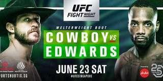 (CAT 2) UFC Fight Night Tickets