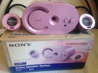 Rush!Sony Active Speaker bought in japanq