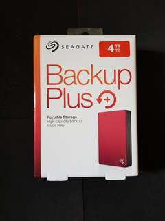Seagate Backup Plus 4TB