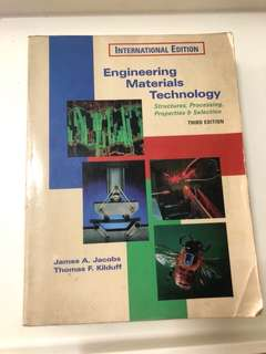 🚚 Engineering Materials Technology, 3rd Ed 1997