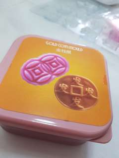 Gold coin mould