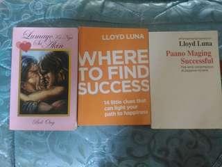 BOB ONG'S LUMAYO KA MAN SA AKIN + 2 Loyd Luna Books