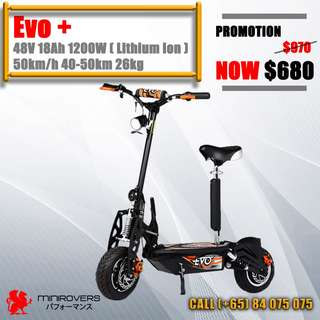 Evo Electric scooter escooter Evo Electric scooter escooter Evo Electric scooter escooter