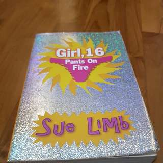 Girl 16 Pants On Fire By Sue Lim