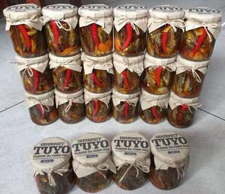 Gourmet Tuyo and Chili Garlic Oil