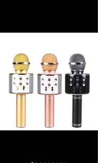 Wireless Microphone KTV Karaoke Stereo USB Player Bluetooth