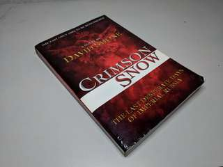 Novel English. Crimson Snow by David Shone
