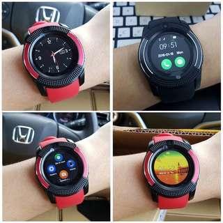 🔥BEST‼️V8 ORI SmartWatch FULL HD IPS SmartWatch Wristband SIM & BLUETOOTH
