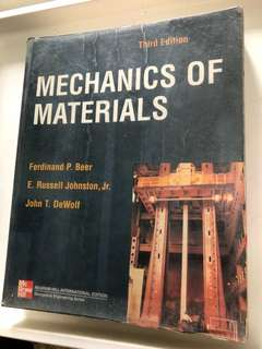 🚚 Mechanics of Materials, 3rd Ed 2002