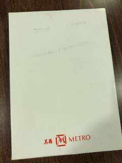 Metro gold MRT card 1996