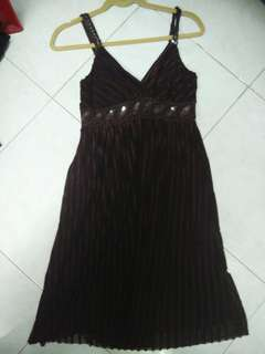 Dinner dress (brown)