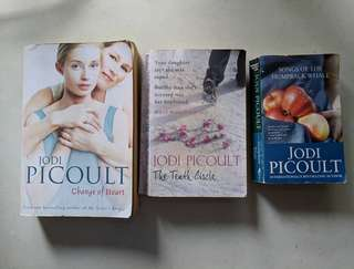 Novel English. Jodi Picoult paket 3 buku