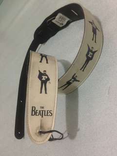 Strap Gitar The Beatles Original Leather (Made In Canada)