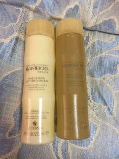 Alterna bamboo smooth anti frizz shampoo and conditioner