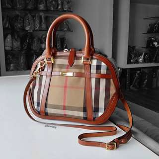 Authentic Burberry Sartorial House Check In Brown
