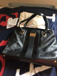 Ferragamo work bag