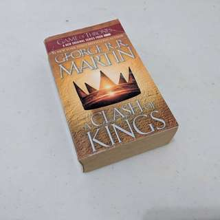 Novel English. A Clash of Kings by George RR Martin