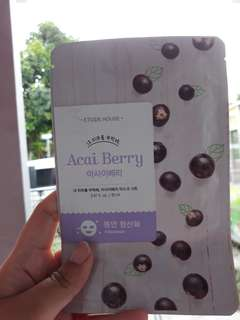 Etude House Sheet Mask Acai Berry